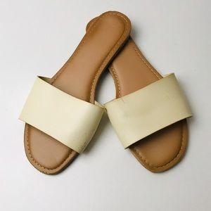 Cream Strap Sandal